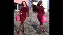 Бесплатный МК часть 4 по вязанию спицами облегающего платья Марсала собираем изделие вяжем реглан