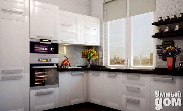 Как спланировать пространство кухни? Рабочее пространство кухни образуют три точки: мойка, плита и холодильник. И чтобы максимально облегчить работу, расстояние между этими ключевыми точками должно быть минимальным. Основная наша «кухонная» траектория пролегает между мойкой и плитой. Оптимальное расстояние между ними – 60-90 см, минимальное – 40 см. Не располагайте плиту вплотную к стене, иначе стена будет забрызгана каплями жира от готовящейся еды. Между плитой и стеной должна быть тумба,…