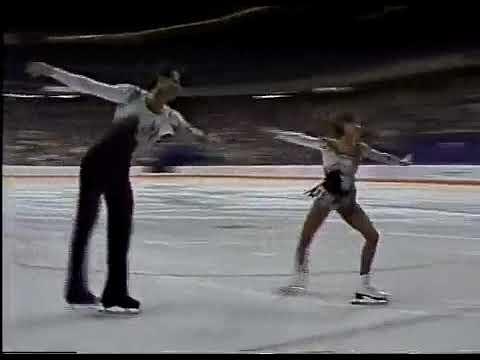 Олимпийские игры 1988 Фигурное катание пары Isabelle Brasseur Lloyd Eisler произвольная программа смотреть онлайн без регистрации