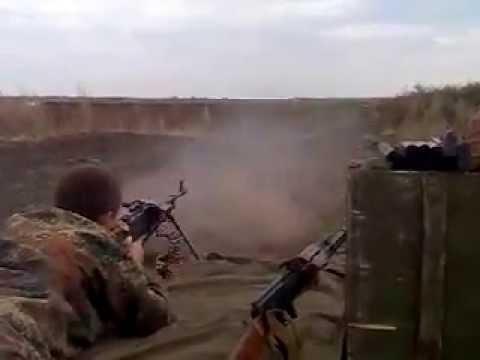 Видео ПКМ в действии, стрельба из ПКМ, ПКМ пулемет