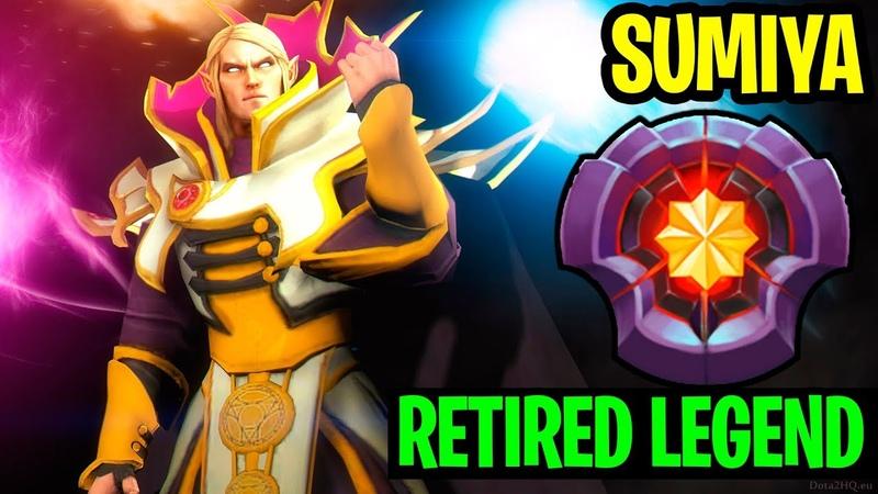 Retired Legend - Sumiya Invoker Still Insane - Dota 2