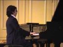 Artem Elekoev Brahms Rhapsody in G minor op. 79 no. 2