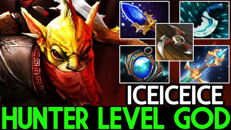 Iceiceice [Bounty Hunter] Hunter Level God 42 Assist Cancer Build 7.20 Dota 2