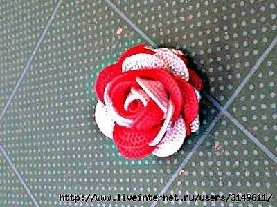 Ideas para el hogar: Paso a paso rosas con cintas