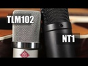 Rode NT1 vs Neumann TLM 102 (acoustic guitar) (pt.1)