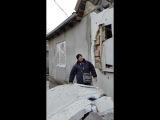 24.11.2014 Первомайск Результат ночного обстрела Градом из Попасной
