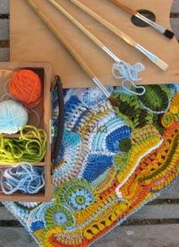 Схемы для вязания картин спицами