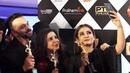 Rohit Shetty Farah Khan And Raveena Tandon At Colors Tv Award Colors IWMBuzz TV Awards 2019