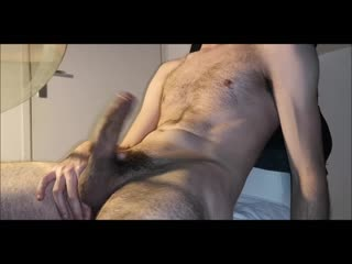 Felt the need to cum so i just did - hairy skinny bvdh wanks  cumshot