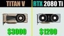 NVIDIA TITAN V vs RTX 2080 TI