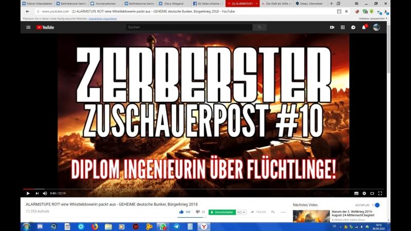 ALARMSTUFE ROT! eine Whistleblowerin packt aus - GEHEIME deutsche Bunker, Bürger