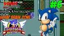 Прохождение серии игр Sonic The Hedgehog 1 - Sonic The Hedgehog SMD,Sega Genesis Часть 6-Финал