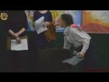 Молодая Гвардия Донбасса на праздничном мероприятии в УК Городской Дворец Молодёжи посвящённом «Дню работника Культуры». Г. Горл