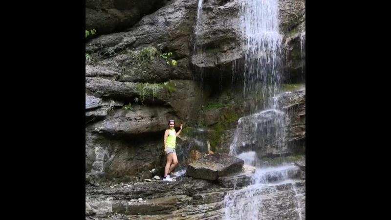 Никитинский водопад и я😂😂😂