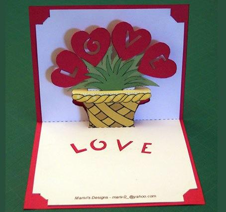 Объемные открытки на день рождения мамы