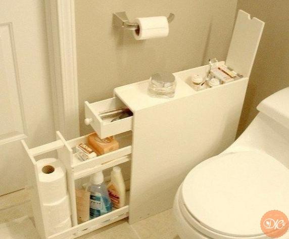 Шкaфчик для ваннoй комнаты своими pукaми.