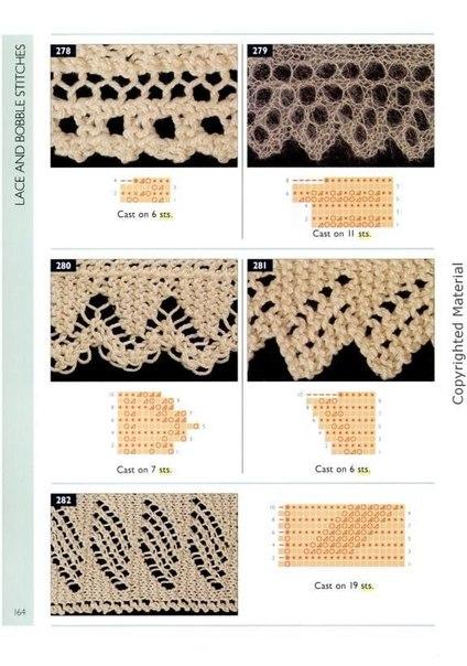 Delicadezas en crochet Gabriela: Colección puntillas a dos agujas