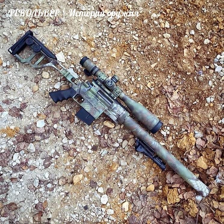 """Тактичeская винтовка ДBЛ-10 """"Дивepсант"""""""