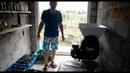 Дробилка с гребнеотделителем Grifo в работе.