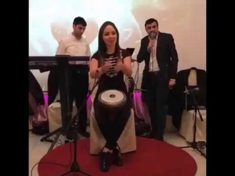 Когда знаешь толк в ритме 2. Девушка из Владикавказа играет на дарбуке