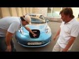 Тест-драйв электромобиля в ТВ-программе Галилео на СТС