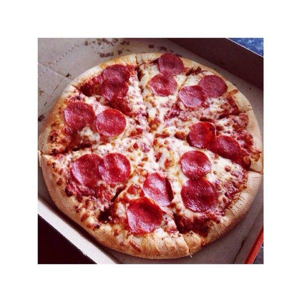 Пицца Быстрее просто не бывает , жаренная на сковороде… (1 фото) - картинка