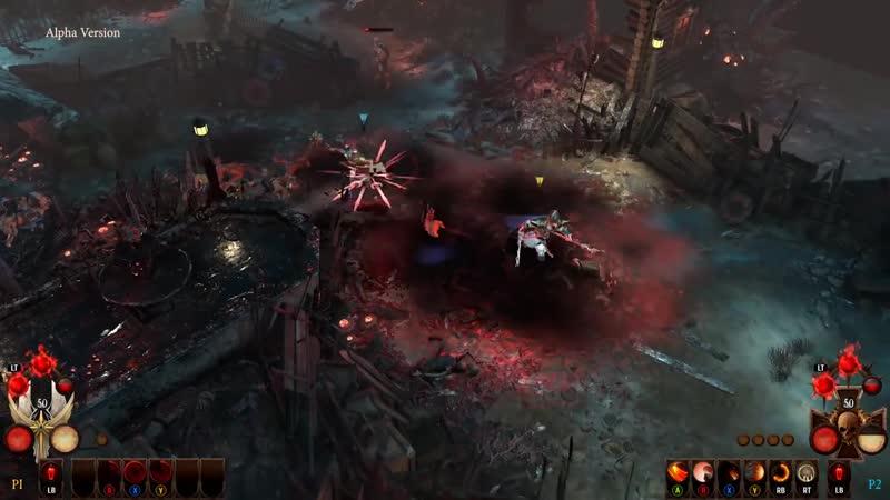 Геймплейный трейлер героя Эльфа Элонтира в игре Warhammer Chaosbane
