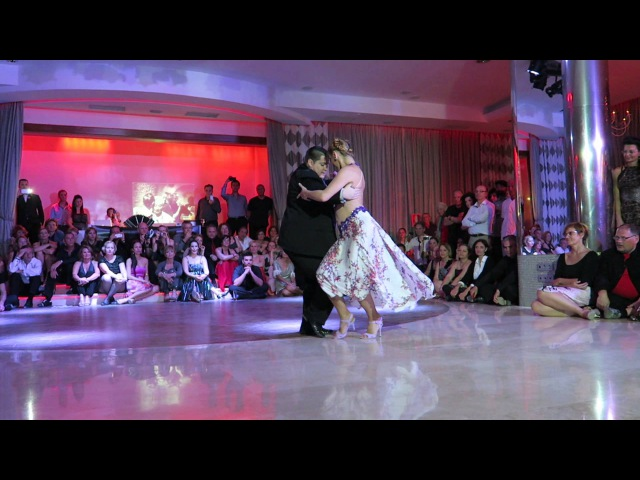 Alejandra Mantinan y Aoniken Quiroga at Canary Islands 2015 Tango Festival 2