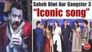 Saheb Biwi Aur Gangster 3 Ka Dhamakedar Song Launch Lag Ja Gale