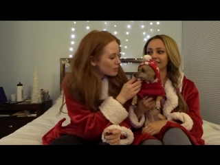 Winter nighttime routine w riverdale costar vanessa morgan - madelaine petsch