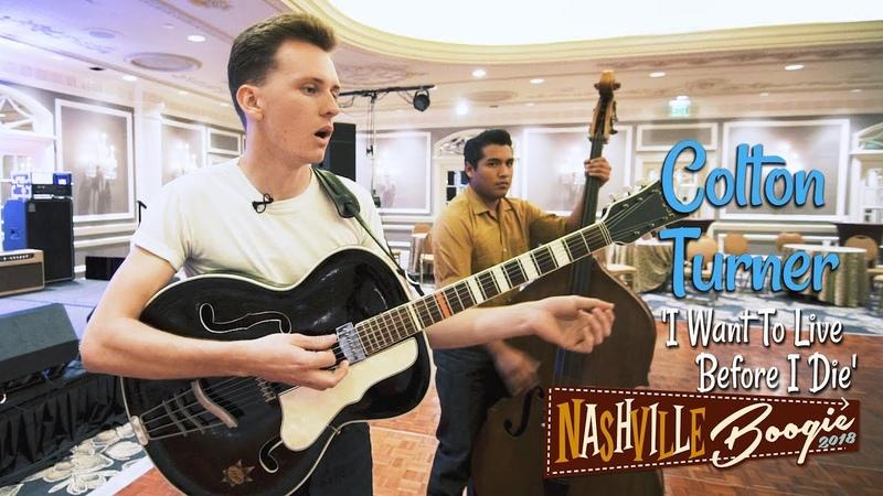 'I Want To Live Before I Die' Colton Turner NASHVILLE BOOGIE (bopflix sessions) BOPFLIX