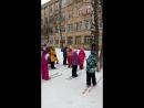 Первая физ-ра на лыжах
