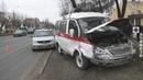 ДТП со скорой в Витебске 12.11.2018