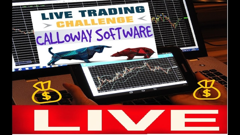 The Calloway Software Live Trading Session $300 Profit In A Singe Session!