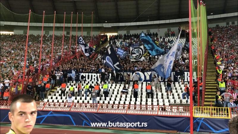 Navijači Napolija u Beogradu Napoli fans in Belgrade Crvena zvezda Napoli
