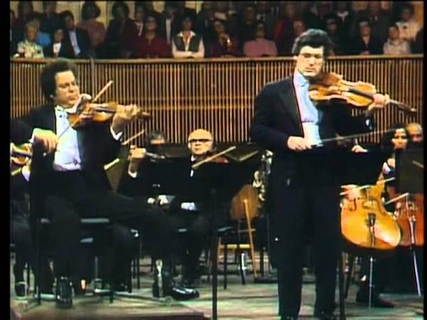 Itzhak Perlman, Pinchas Zukerman, Zubin Mehta - Mozart Sinfonia Concertante - Part 1