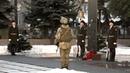 Ранковий церемоніал вшанування загиблих українських героїв 19 січня