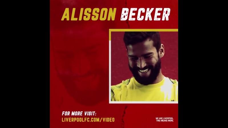 «Ливерпуль» объявил о трансфере Алиссона Бекера