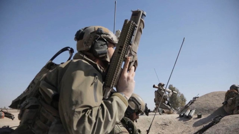 US Special Operations Afghan Commandos in Combat Operations Against Taliban - Afghanistan War