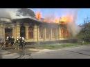 Полтава, пожар на ул.Парижской комуны, 26.04.14г