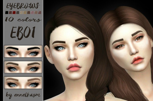 EYEBROWS EB01 by ENNETKASM