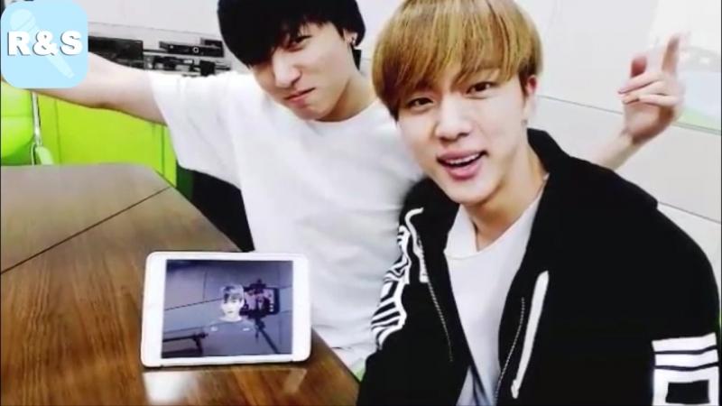 Озвучка RS BTS Live Джин и Чонгук
