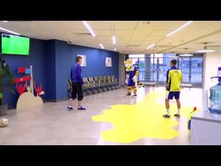 Детская футбольная площадка от football masters
