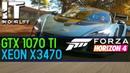 Forza Horizon 4 /Xeon x3470 /GTX 1070 ti /gameplay test /1080p