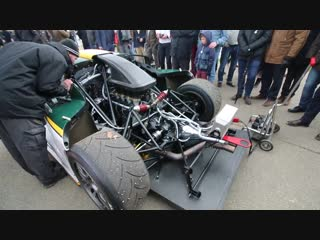 1 of 6 #Lotus #Elise #GT1 engine sound revs idle [Lovely Sounds] 75th Members Meeting