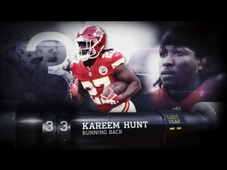 Top 100 Players of 2018: № 33 Kareem Hunt