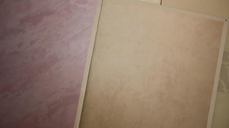 Мокрый шелк (бежевый) и струящийся шелк (сиреневый)