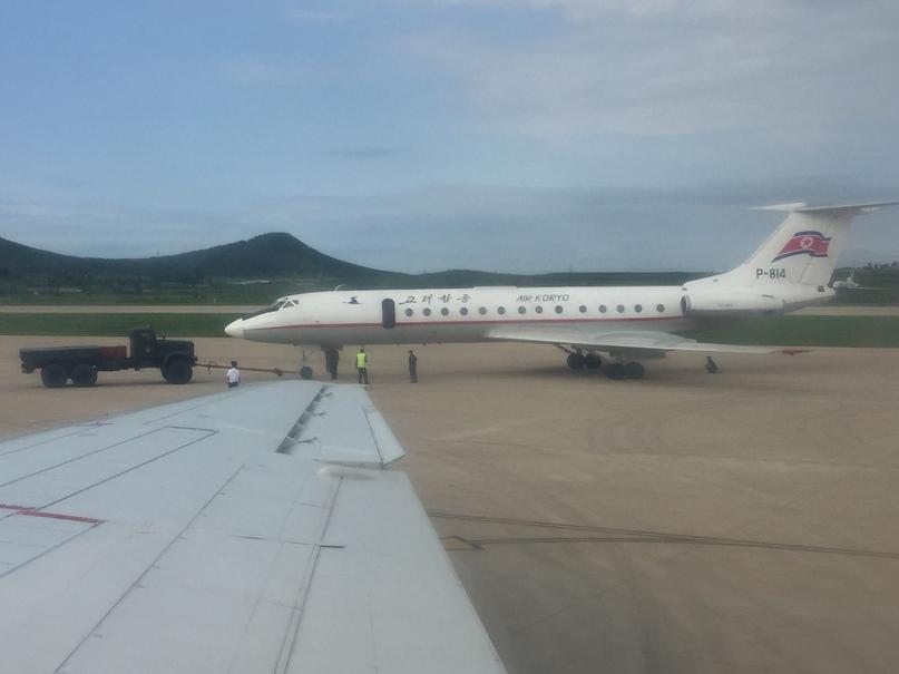 Северная Корея Владивосток. Ту-134