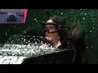 Megan Fox Playing Forza Horizon 4 Season Simulator LIVE on September 13, 2018