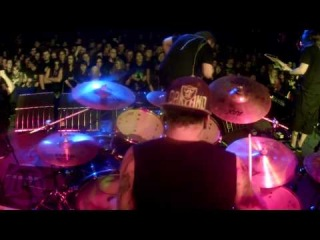 DECAPITATED@Flash Black-Live at Cracow-Poland 2013 (Drum Cam)